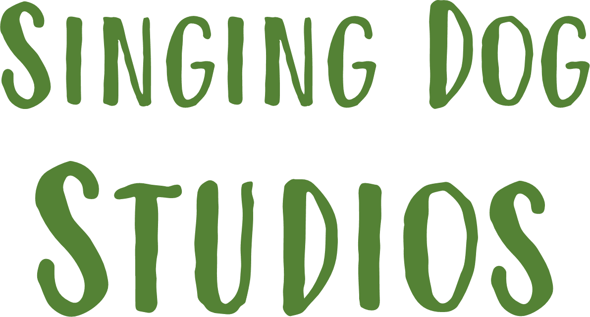Singing Dog Studios Logo